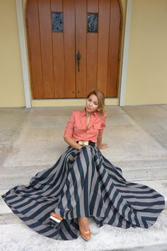 FALL FOR MAXI SKIRT THANKSGIVING OUTFIT