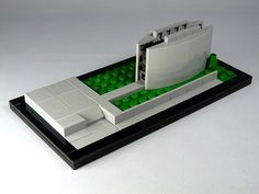 LEGO Architecture MOC: Ruskin Library 05, Lancaster