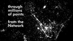 atNight project aims to constitute a first step towards the construction of nightscape image, a necessary first contribution to the (re)definition of the nigh-time identity. We have taken the opportunity to explore the potential of city's representation techniques -by means of data visualization and cartography- to generate an interpretative model of nocturnal landscape as a common framework for collective thought.