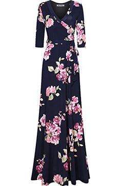 Bon Rosy Women's 3/4 Sleeve Floral Printed Bohemian Maxi ... https://www.amazon.com/dp/B06ZXY2DW3/ref=cm_sw_r_pi_dp_x_Ro0FzbH2CTSRM