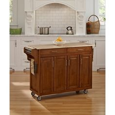 Shop for Home Styles Cottage Oak Finish with Wood Top Create-a-Cart. Get free shipping at Overstock.com - Your Online Kitchen