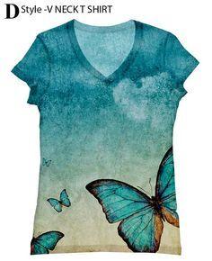 Mujer mariposa top228 XXSPLUS tamaño de impresión por hellominky