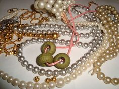 Vintage Jewelry lots Necklace Beads Wear Repair by TigersPlace, $7.50