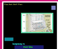 Plate Rack Shelf Plans 100403 - The Best Image Search