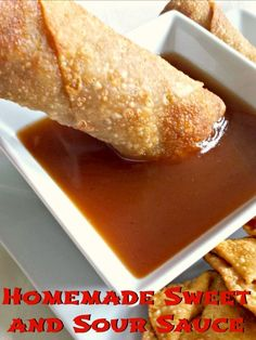 Sweet and sour sauce recipe from scratch in 10 minutes with ingredients from your pantry. This simple recipe is gluten free (with tamari) and dairy free, and you'll never fight over that last sweet and sour packet from your favorite Chinese restaurant again!