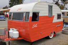 Fully restored 1956 Shasta 1400 travel trailer