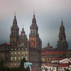 Santiago de Compostela in La Coruña, Galicia