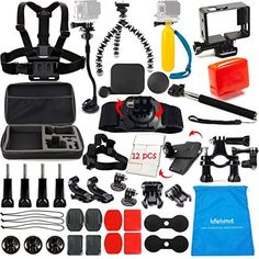 Kit Includes: 1 x Large Size Protective Bag 1 x Adjustable #GoPro Suction cup Mount+Tripod Mount with Gooseneck Extension(2015 new model) 1 x backdoor Float and ...
