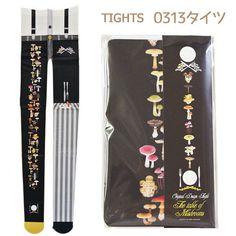 ❤Hamee 日本 0313 設計師系列 可愛雜貨 造型褲襪(菇菇大串連) [528-699806] | Hamee 台湾 - Yahoo!奇摩超級商城