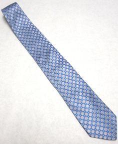 Vintage  Necktie Blue Pink Long Tie by sweetie2sweetie on Etsy, $32.99