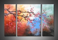 Beautiful multi panel painting