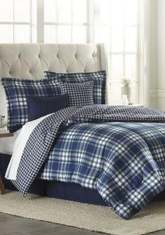 Bed in a Bag Plaid Comforter, Bedroom Comforter Sets, Full Comforter Sets, Duvet Bedding Sets, Bedding Shop, Comforters, Room In A Bag, Bed In A Bag, Best Mattress