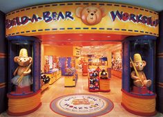 Build-A-Bear Workshop is an American retailer headquartered in St. Louis, Missouri that sells teddy bears and other stuffed animals. Customers go through an interactive process in which the stuffed animal of their choice is assembled and customized during their visit to the store.
