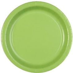 """baby shower party planning decorating decoration fun yay boy girl celebrate enjoy happy birthday solids solid event events Amazon.com: Celebrations! Citrus Green 9"""" Paper Dinner Plates - 8 ct: Toys & Games"""