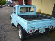 Curbside Classic: 1979 Suzuki Jimny Pickup - The Truth About Cars Small Pickup Trucks, Mini Trucks, Old Trucks, Chevy Luv, Suzuki Cars, Kei Car, Little Truck, Suzuki Jimny, Jeep Models