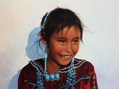 Pow Wow Smile by George Molnar kp