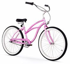 Firmstrong Urban Lady Three Speed Beach Cruiser Bicycle, 26-Inch, Pink, 341.83$, Vintage Clothing http://secretofdiva.com/product/firmstrong-urban-lady-three-speed-beach-cruiser-bicycle-26-inch-pink/