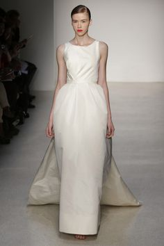 Strong and Sophisticated – Amsale Bridal 2013 from New York Bridal Week
