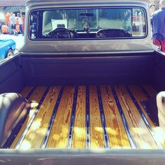 Back end 1961 Chevy Apache PU