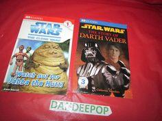 2 DK Readers Star Wars Books Story of Darth Vader & Watch out for Jabba The Hutt #DKReaders #StarWars #DarthVader #JabbaTheHutt #Books #Reading #dandeepop