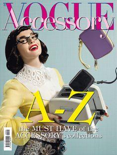 Editorial Vogue Accessory by Lucia Giacani, via Behance