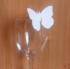 100 Butterfly Wedding /& Celebration Place Cards//Table Decorations Embellishments