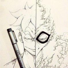 Диалоги Phoenix Drawing, Phoenix Art, One Piece Drawing, 0ne Piece, One Piece Anime, Manga Illustration, Doodle Art, Fan Art, Sketches
