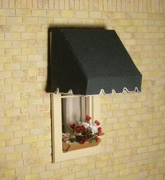 Made to-order Dollhouse awnings Traditional style 2 by janetharvie