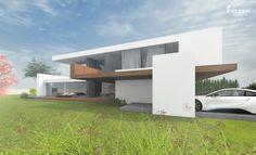 Ein modernes Haus im Bauhausstil als individuelles Architekturunikat zum Festpreis bauen. Massivhaus / Wohnhaus für höchste Stil- & Qualitätsansprüche.