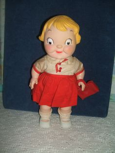 Campbell Soup Advertising Girl Doll
