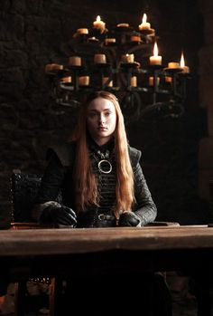 """sophieturner:  """"Another look at Sansa Stark in Game of Thrones S7  """""""