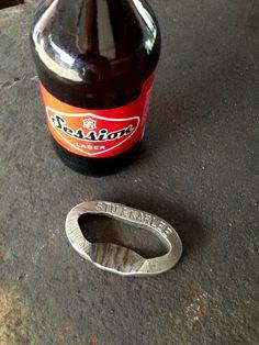 Custom Railroad Spike Bottle Opener Soda Coke Hand Forged #1 Beer