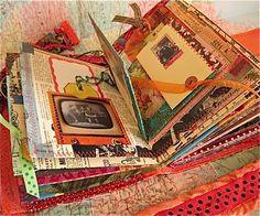 Colorful junk journal books in art скрапбукинг, книга теней, артбуки. Art Journal Pages, Junk Journal, Art Journals, Journal Cards, Handmade Journals, Handmade Books, Glue Book, Altered Book Art, Scrapbook Journal