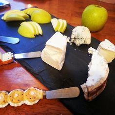 The Simple Treat: Cheese and apples