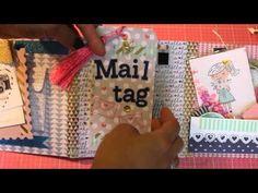 VR for CraftyIrina Pen Pal Flip Book Challenge - YouTube