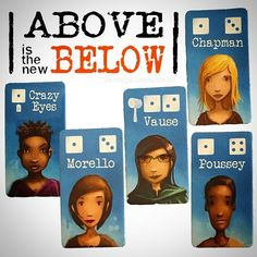 """We were playing #AboveandBelow last night with @girlygamer and she suddenly says """"my village is basically Orange Is the New Black"""" and she was right. It gave us a laugh, so we went there with this. We hope you like it. #CrazyEyes #alexvause #piperchapman #poussey #morello #ryanlaukat #orangeisthenewblack #tabletop #tabletopgame #bgg #boardgamegeek #juegodemesa #gamesnight #boardgames #boardgame #boardgamer #gaymer #boardgames #geek #netflix #netflixandchill #redravengames #OITNB"""