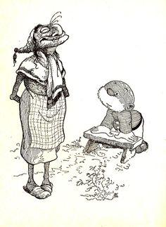Paulus en Joris het vispaard, Jean Dulieu