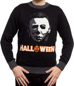 Halloween Daily News: Mondo Releasing Michael Myers Horror Sweater, Scarf