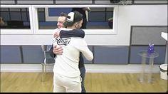 Briga abbraccia Tiziano