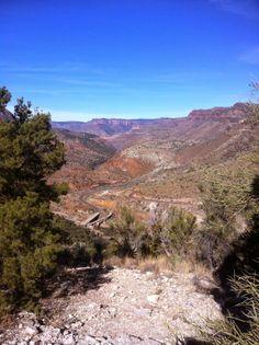 Salt River Canyon, Arizona http://theturquoisetrail.com