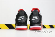 the latest 07a21 d77c7 Air Jordan 4 Retro OG BRED Aj4 308497-060 Black Cement Grey-Summit