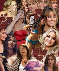 I love Jennifer Lawrence. She is so perfect.