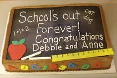 school retirement cake