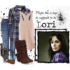 Inspired by Sarah Wayne Callies as Lori Greene on The Walking Dead. Walking Dead Halloween Costumes, Cute Halloween Costumes, Walking Dead Clothes, Zombie Apocalypse Outfit, Pretty Outfits, Cool Outfits, Character Inspired Outfits, Fandom Outfits, New Wardrobe