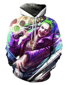 By Hoodies get ready to feel wild looks of joker. Hoodies draws you into a fantastic world with a magical look. Hoodies has a high quality structure, is very successful in protecting against cold and wind. Sweat Shirt, Badass, Streetwear, Hip Hop, Basic Hoodie, Funny Prints, Boys Hoodies, Pullover, Funny Tshirts