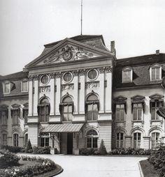 Messbild Berlin, Reichskanzlerpalais in der Wilhelmstraßee  1910.