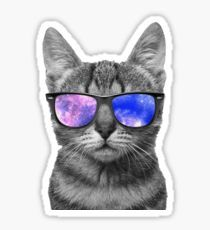 Space Kitty Pegatina