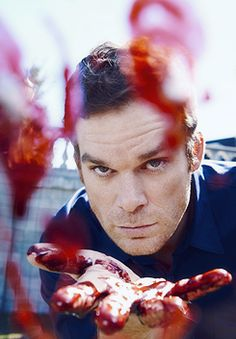 Micheal C. Hall  -his amazing and short battle with Cancer is one that should inspire everone