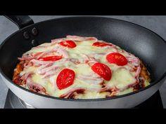 Vyzkoušejte tu nejjednodušší, chutnou a zdravou pizzu! Má neuvěřitelně málo kalorií!| Chutný TV - YouTube Barbacoa, Calories, Pizza Recipes, Pepperoni, Quiche, Food, Tasty, Homemade, Entrees