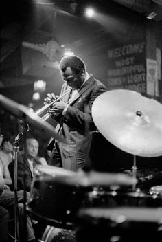 Miles Davis playing at Shelly's Manne Hole nightclub March 30, 1968 by Bettman